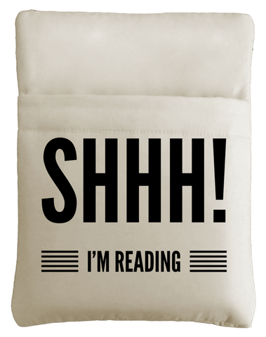 SHHH! I'm Reading Book Sleeve