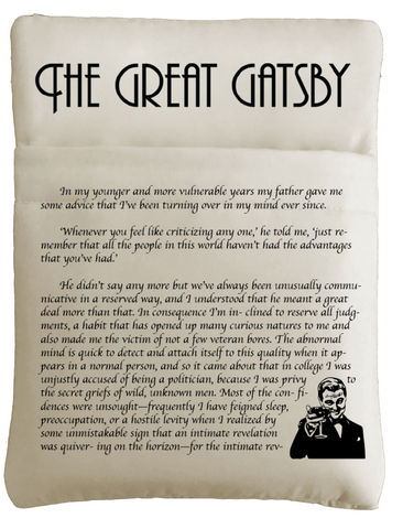 The Great Gatsby Book Sleeve