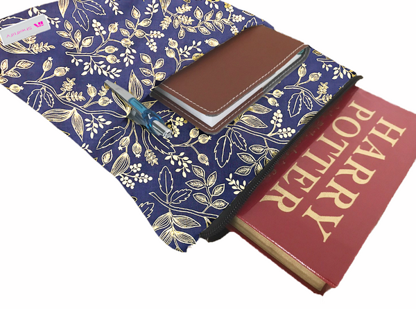 Seeds of the East Grande Book Sleeve - Deluxe Japanese Cotton