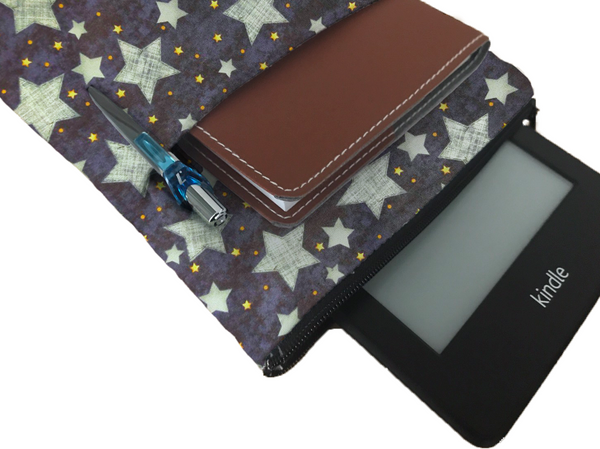 Starry Nights Book Sleeve - Deluxe Japanese Cotton