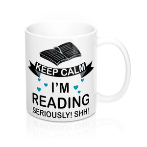Keep Calm I'm Reading Mug