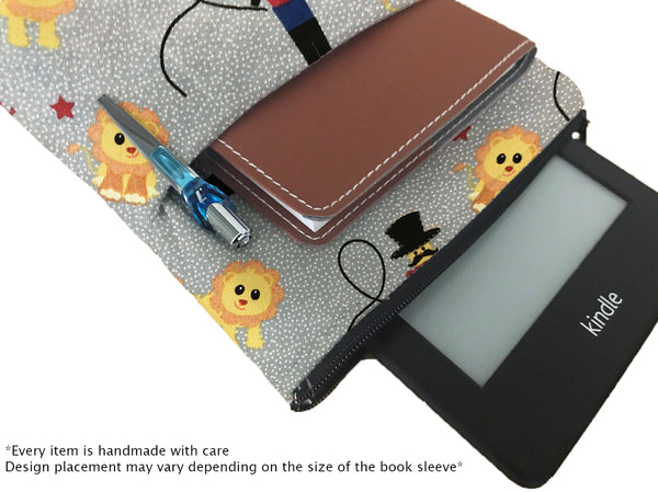 Roll Up Book Sleeve - 100% Cotton Fabric