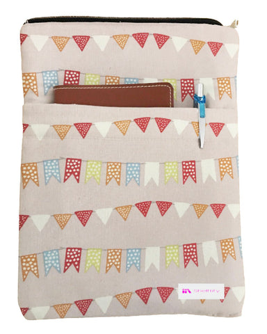 Flags Book Sleeve - 100% Cotton Fabric