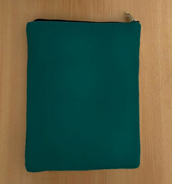 Dark Green Book Sleeve - Luxurious Thai Silk