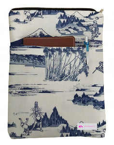 A Japanese Life Book Sleeve - Deluxe Japanese Cotton