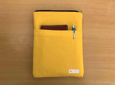 Bumblebee Book Sleeve - Luxurious Thai Silk