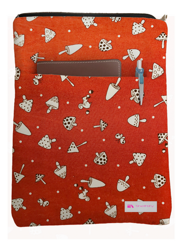 Little Squirrel Book Sleeve - Deluxe Japanese Cotton