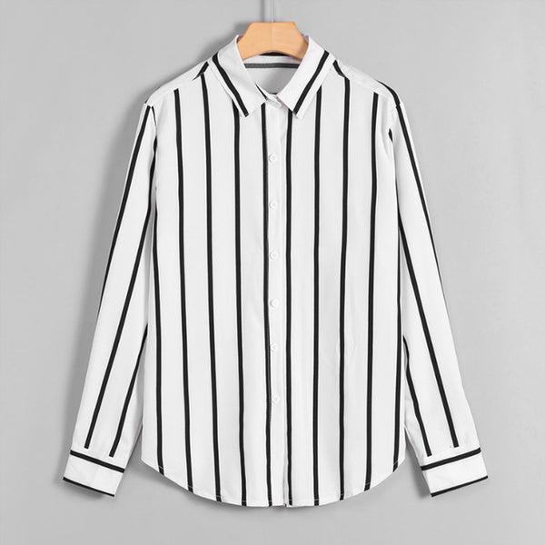 HIRING PERFECT SLEEVE STRIPED SHIRT