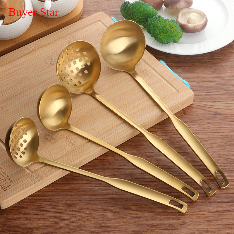 Stainless Steel Cooking Utensil Set