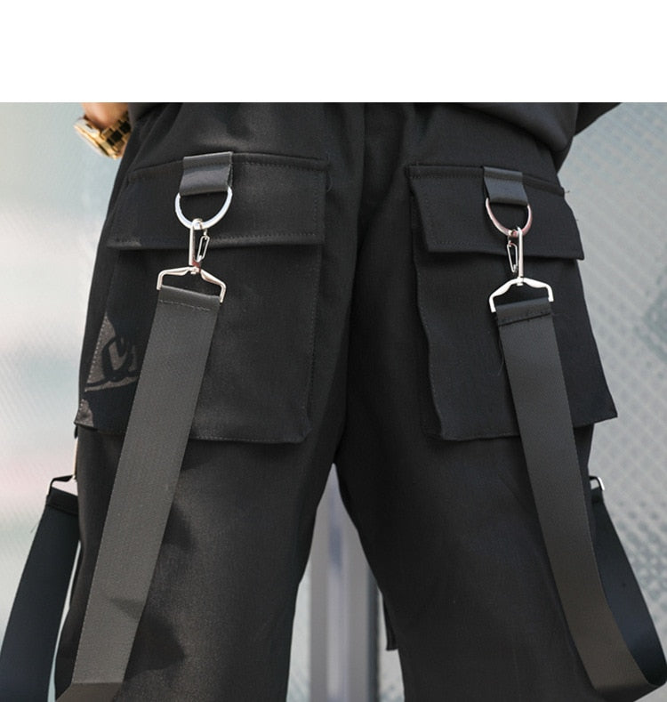 LINFENGXIANGZI TACTICAL MULTI-POCKET SHORT