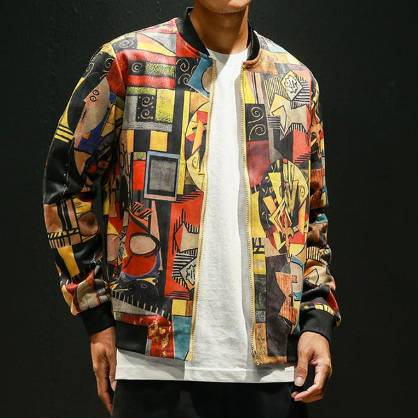 ART CANVAS JACKET