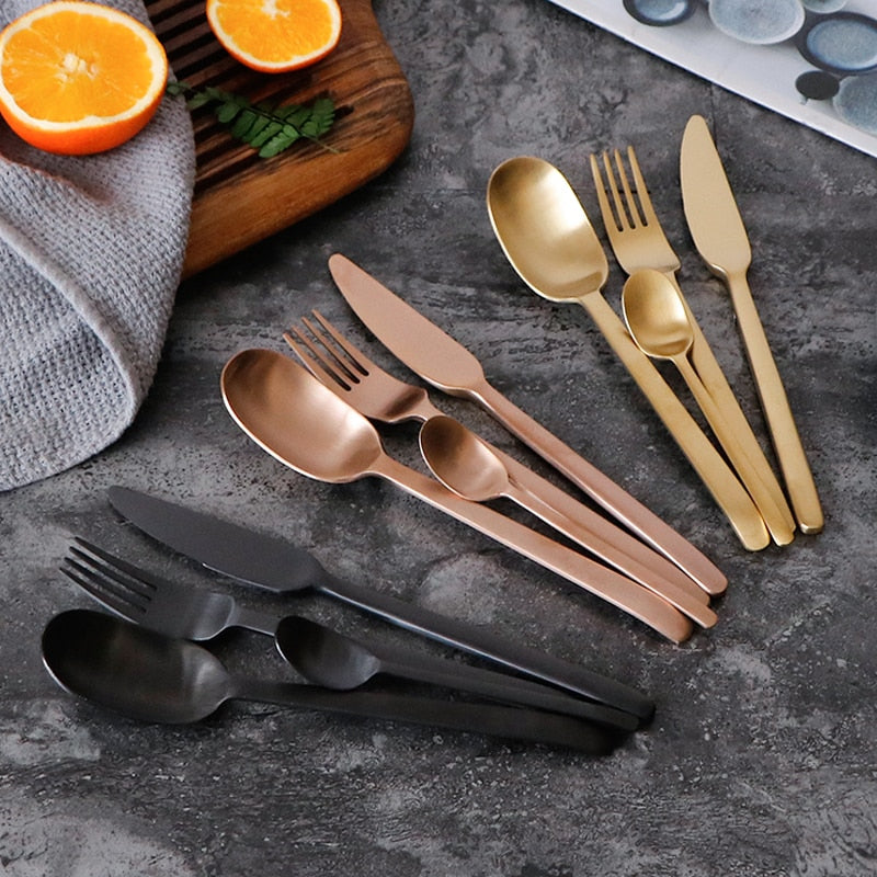Curve Style Cutlery Sets