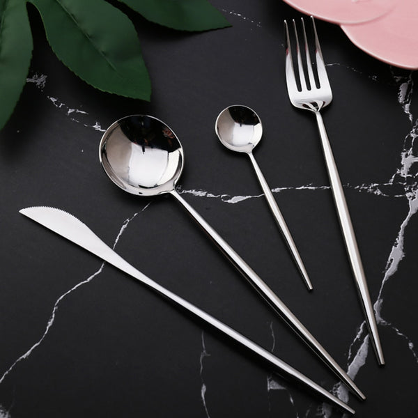 Long Body Cutlery Set