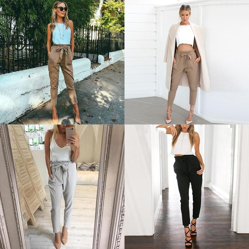 High Waist Harem Pants for Women