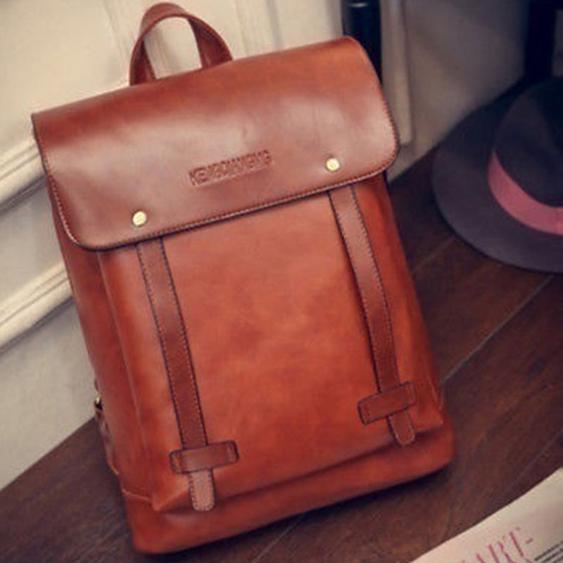 London Leather Backpack