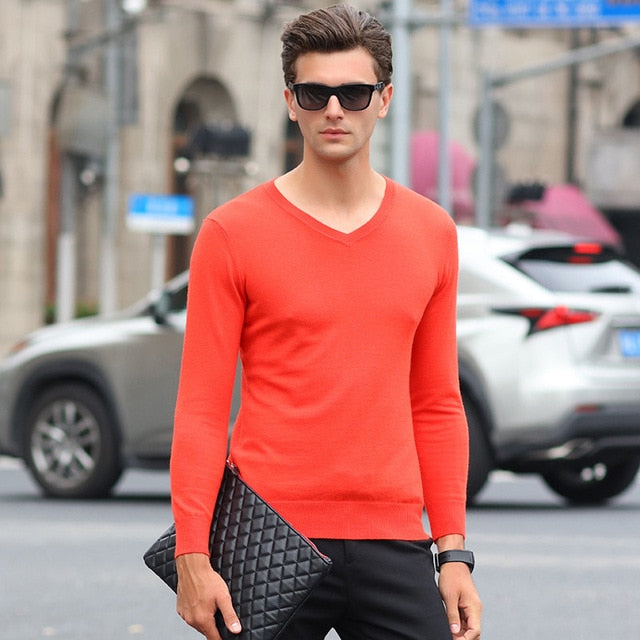 ARTICULO SOLID COLOR SLIM SWEATER