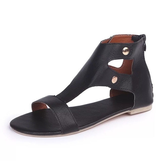 MOOUSEOU GLADIATOR COMFORT SANDALS