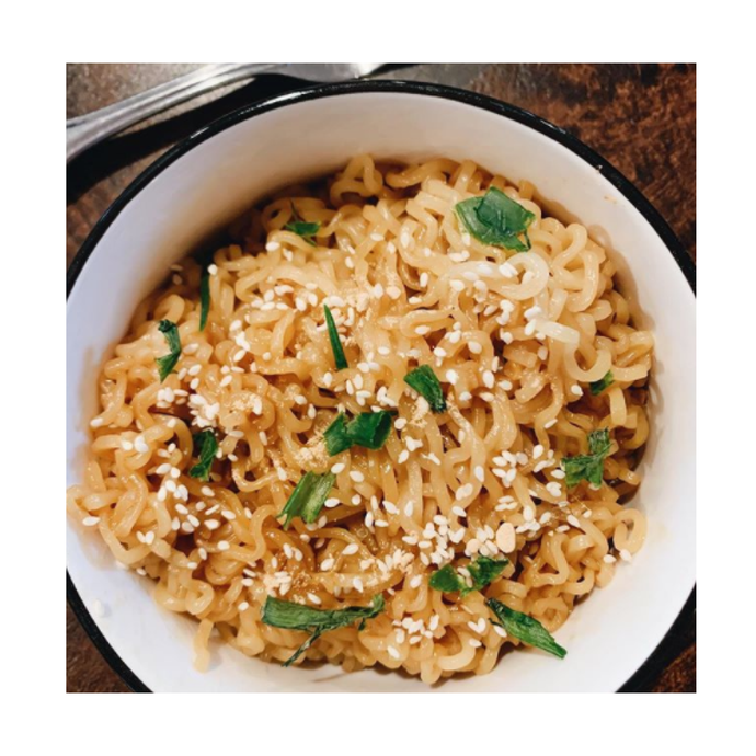 Sweet & Spicy Honey Sesame Noodles