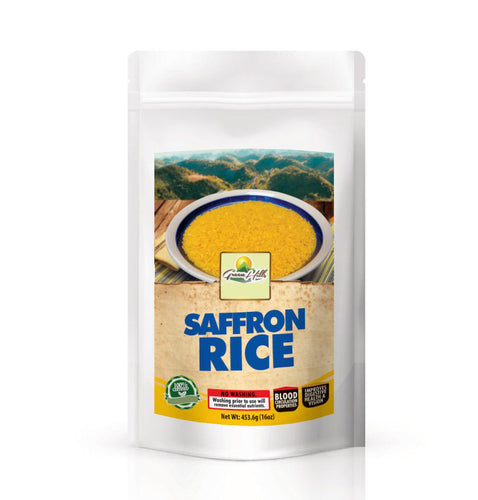 Vegan Saffron Rice 16 oz