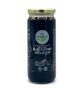 Organic Blackstrap Molasses (Liquid)- Highly concentrated nutrition source