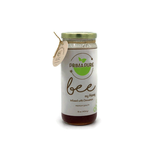Honey Infused with Cinnamon - 16 fl oz
