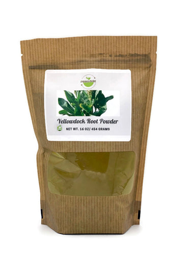 Yellow Dock root Powder - 1 pound