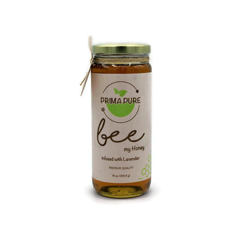 Honey Infused with Lavender - 16 fl oz