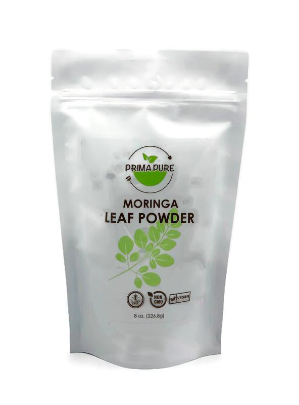 Organic Moringa Leaf Powder - 8oz High in antioxidants