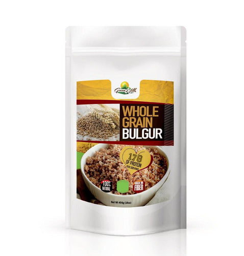 Bulgur Grain - Organic source of low-fat protein