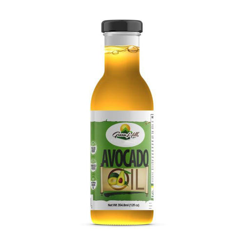 100% Pure Organic Cold Pressed Unrefined Extra Virgin Raw Avocado Oil All Natural  - 12 fl oz