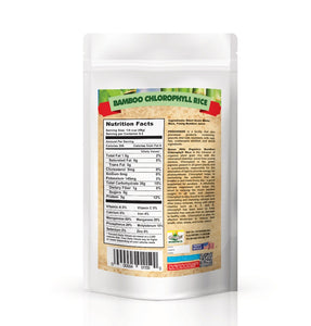 Organic Bamboo Rice with Chlorophyll (bamboo Juice)