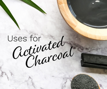 Load image into Gallery viewer, activated charcoal uses for digestive issues, teeth whitening and acne