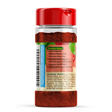 Load image into Gallery viewer, Organic Cayenne Pepper Powder - 5oz Gluten Free, Non-GMO