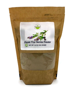 Chaste Tree Berries Powder - 1 pound