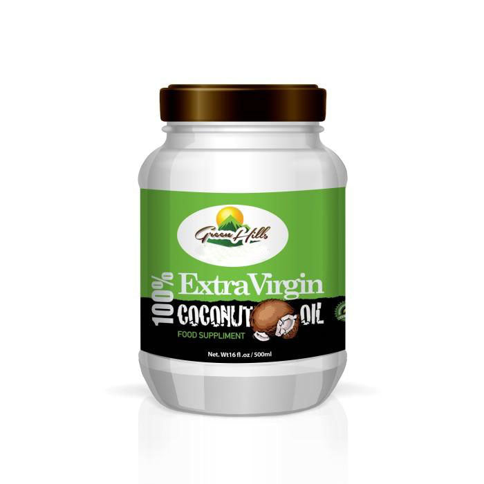 Organic Extra Virgin Coconut Oil - 16 fl oz Unrefined, unprocessed & deodorized
