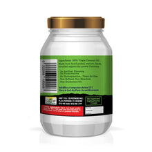 Load image into Gallery viewer, Organic Extra Virgin Coconut Oil - 32 fl oz Unrefined, unprocessed & deodorized