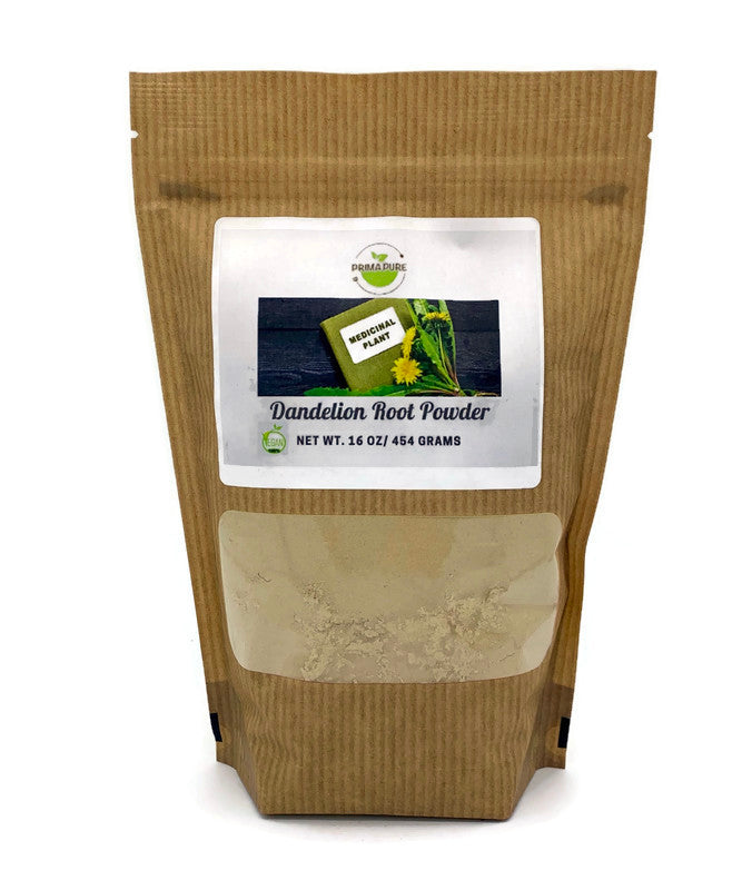 Organic Dandelion Root Powder - Rich in antioxidants 1LB
