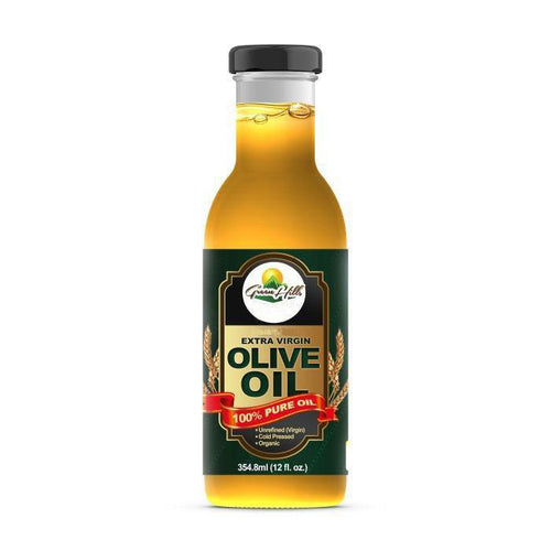 100% Pure Organic Extra Virgin Olive Oil - 12 fl oz