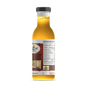 Organic Extra Virgin Hazelnut Oil - 12fl oz Rich in essential fatty acids