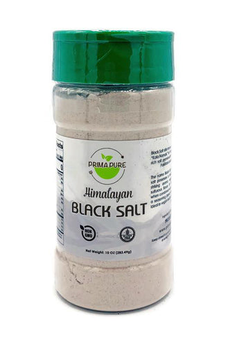 Himalayan Black Salt - 10oz Natural non GMO