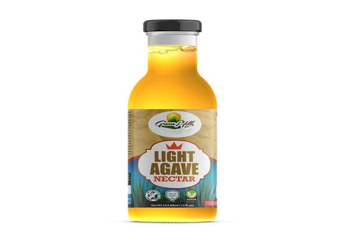 Organic Light Blue Agave Nectar - 12oz Low-glycemic Sweetener