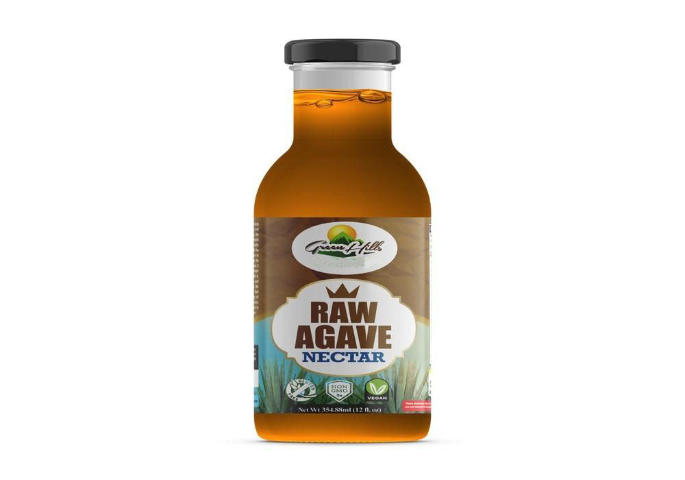 Organic Raw Agave Nectar - 12oz Suitable for vegans