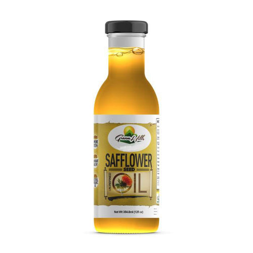 100% Pure Organic Safflower Oil - 12 fl oz