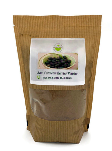 Saw Palmetto Berries Powder - 1 pound