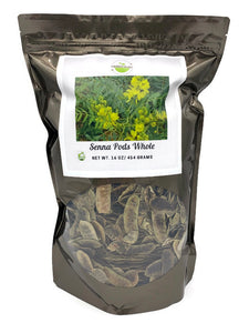 Senna Pods Whole - 1 pound