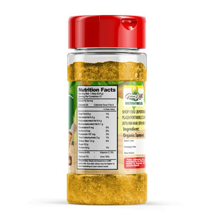Organic Turmeric Powder - 141.74g (5oz)