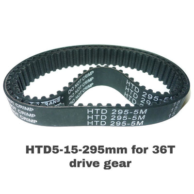 Timing belts for 60T and 36T drive gears - www.haggyboard.com