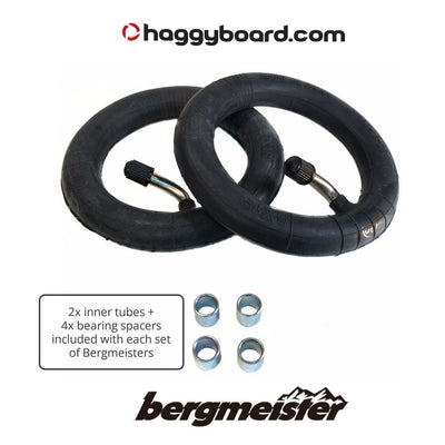 Inner tube and bearing spacers for the Bergmeister pneumatic all-terrain wheel