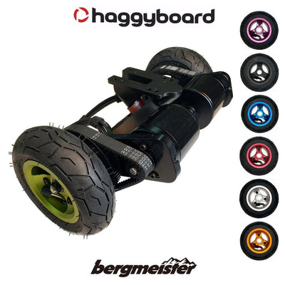 Haggy Drive System - (All-terrain) incl. Bergmeister pneumatic wheels
