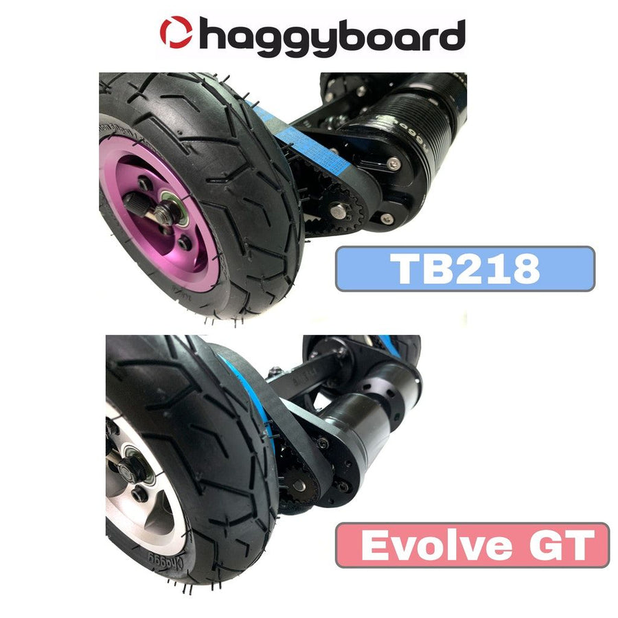 49T & 55T pulley for Evolve GT/X and TB218 trucks